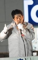 """安倍首相が高級寿司店で大手新聞、テレビ局の幹部たちと""""祝勝会""""!?"""