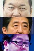 安倍首相がお友達の秋元康、見城徹と撮った「組閣ごっこ」写真が流出! 憲政冒涜の声