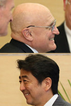 安倍政権が安保法制を押し付けたジャパンハンドラー・アーミテージに最高勲章授与! 安倍と米国の闇の関係