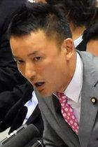 カジノ法案採決で山本太郎が議場に向かい「セガサミーやダイナムのためか」と本質を絶叫! でもマスコミは