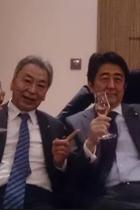 安倍首相が加計氏に続き「男たちの悪巧み」写真のお友達を優遇! メガバンク幹部なのに監督官庁の金融庁参与に