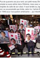 仏ル・モンド紙が「安倍首相の改憲の本質は、大日本帝国の復活」と喝破!「天皇が安倍の歴史修正主義に抗っている」との記述も