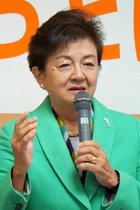 安倍政権打倒と原発ゼロのチャンスを潰した希望の党。それを批判できなかった嘉田前滋賀県知事に直撃! その責務を質すと…
