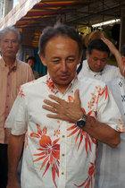 沖縄県知事選で玉城デニー候補が翁長氏の遺志を継ぐ決意表明! 一方、安倍自民党は争点隠しとフェイク攻撃を企て
