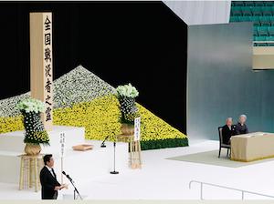 安倍首相が終戦の日に露骨! 靖国神社の源流の神社に参拝し、自民党声明から「民主主義、基本的人権の堅持」削除の画像1