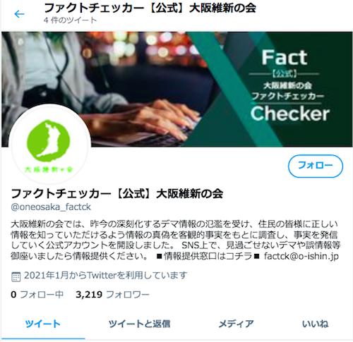 大阪維新「ファクトチェッカー」が一般市民の事実に基づく行政批判を吊るし上げ!「まず吉村のイソジンをチェックしろ」と非難殺到の画像1