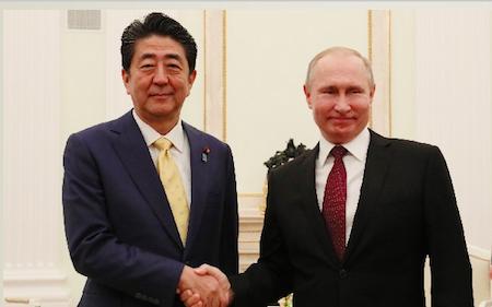 北方領土の日、安倍首相の挨拶や政府広報から「日本固有の領土」の主張が消えた! ロシアに屈し交渉失敗を隠す卑劣の画像1
