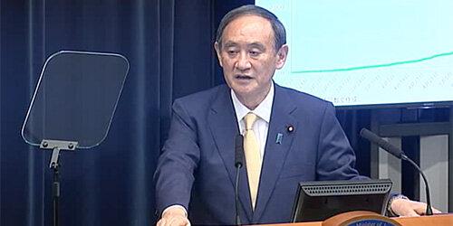 菅首相が緊急事態宣言会見で大ボラ連発! ワクチンは「世界でもっともスピード」、ロッキン中止も「じつは五輪も同様の取り扱い」の画像1