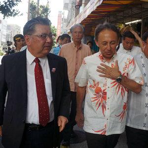 沖縄県知事選で玉城デニー候補が翁長氏の遺志を継ぐ決意表明! 一方、安倍自民党は争点隠しとフェイク攻撃を企ての画像2